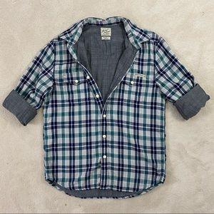 Lucky Brand Sportswear Men Plaided Shirt Sz M